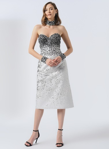 Karahasans Elbise Beyaz